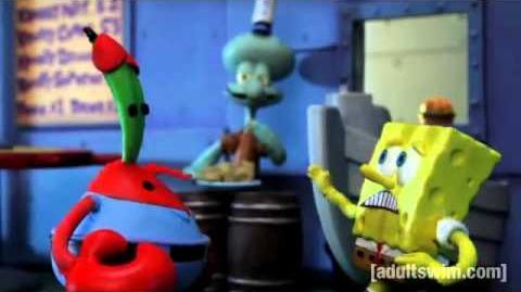 Video Sponge Bob Robot Chicken Spongebob Amp Friends