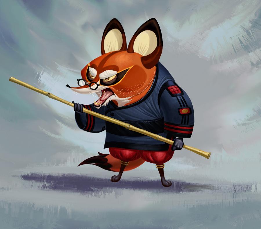 Kung fu panda master junjie - photo#7