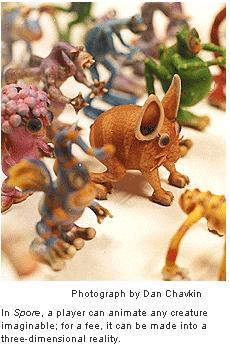 Spore figurines