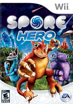 Spore Hero Coverart