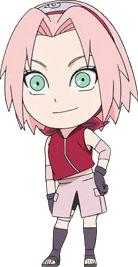 Sakura Haruno's full appearance