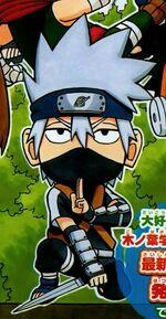 Young Kakashi colored