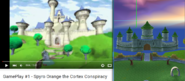 Spyro Orange Castle Vs Spyro 3 Castle The Dragon Realms