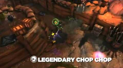 Skylanders Spyro's Adventure - Legendary Chop Chop Preview (Slice and Dice)