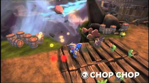 Skylanders Spyro's Adventure - Chop Chop Trailer (Slice and Dice)
