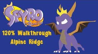Spyro the Dragon 120% Walkthrough - 14 - Alpine Ridge