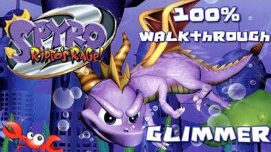 Spyro 2- Ripto's Rage! 100% Walkthrough - 1 - Glimmer
