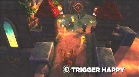 Skylanders Spyro's Adventure - Trigger Happy Preview (No Gold, No Glory)