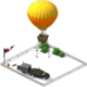 Decoration Air Balloon Launch Pad