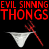 Meme Sinning Thongs