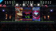 Boxing Ring giant screen (Wii U version)