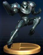 Trophy Dark Samus