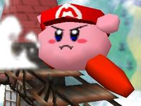 Kirby mario ssb