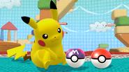 SSB4-Wii U Congratulations Pikachu Classic