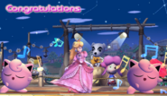 Jigglypuff Congratulations Screen All-Star Brawl