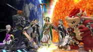 SSB4-Wii U Congratulations Corrin Classic