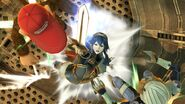 Lucina up aerial