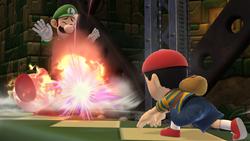 PK Fire Luigi