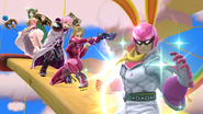 SSB4-Wii U Congratulations Captain Falcon All-Star