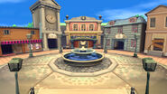 Animal Crossing City Background