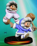 Ice Climbers smash trophy (SSBM)