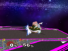 Bowser Down smash SSBM