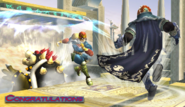 Captain Falcon Congratulations Screen All-Star Brawl