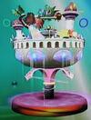 Fountain of Dreams trophy (SSBM)