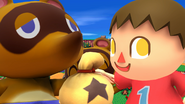 SSB4-Wii U Congratulations Villager All-Star