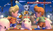Lucas Congratulations Screen Classic Mode Brawl