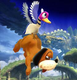 Duck Jump SSBWU