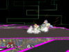 Fox Floor attack (front) SSBM
