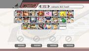 SSBB starting roster