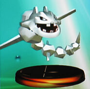 Steelix trophy (SSBM)