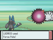 Force Palm Pokémon Platinum