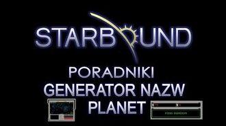 PL - STARBOUND PORADNIKI GENERATOR NAZW PLANET