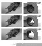 Xian scout ship main hatch detail