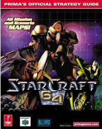 StarCraft64Guide Cover1