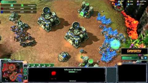 StarCraft II Heart of the Swarm - Battle Report (Terran vs Protoss)