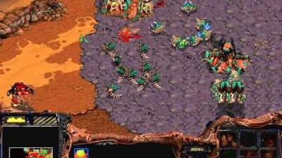 Starcraft Brood War - Zerg Campaign Mission 4 - The Liberation of Korhal Walkthough Lets Play