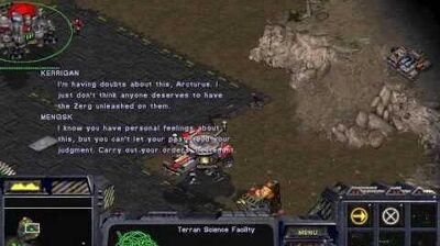Starcraft Original Terran - Campaign Mission 7 The Trump Card Walkthough Lets Play