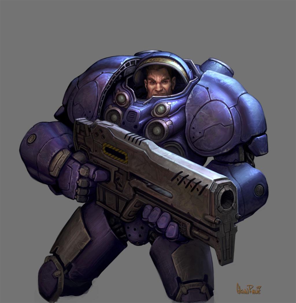 starcraft space marine artwork - photo #38