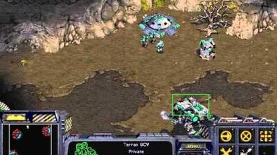 Starcraft Brood War - Terran Campaign Mission 3 - Ruins of Tarsonis Walkthough Lets Play