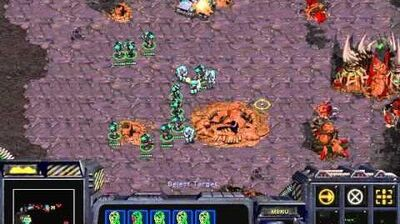 Starcraft Brood War -Terran Campaign Mission 8 - To Chain the Beast Ending Walkthough Lets Play