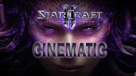 Starcraft 2 Heart of the Swarm - Cinematic 07 - Reborn