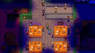 Spirit's Eve How To Get Golden Pumpkin - Stardew Valley