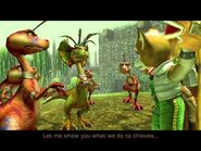 Star Fox Adventures Bound Fox