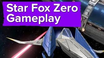Star Fox Zero Gameplay - E3 2015 Nintendo Direct