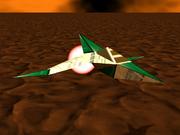 Star Fox 64 Cornerian Figther Bulldog & Husky Scuadron