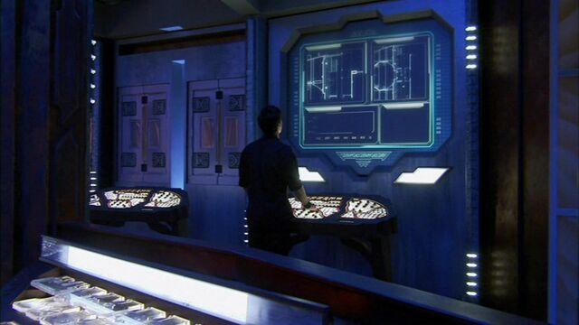 File:Aurora-class battleship auxilary control room.JPG